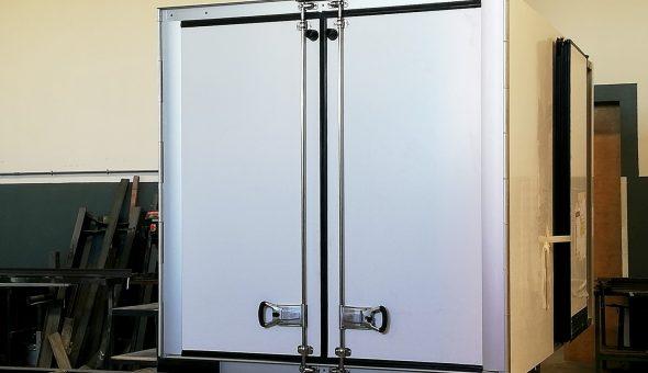 Van furgone frigo isotermico assemblaggio